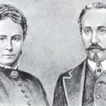 Adam Opel si Sophia Opel