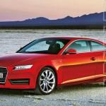 Audi A5 render autobild.de