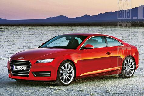 noul Audi A5 render autobild.de