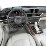 Audi A6 facelift 2014 interior