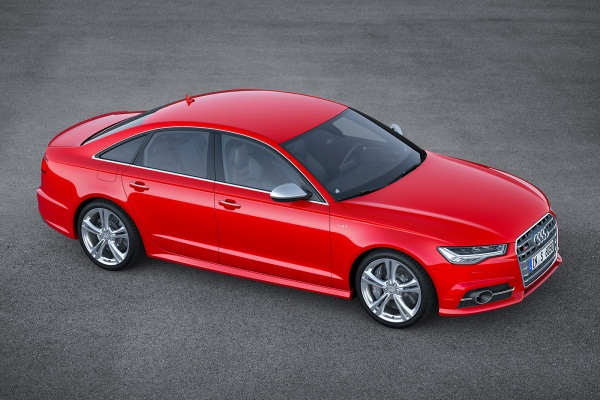 Audi A6 facelift 2014
