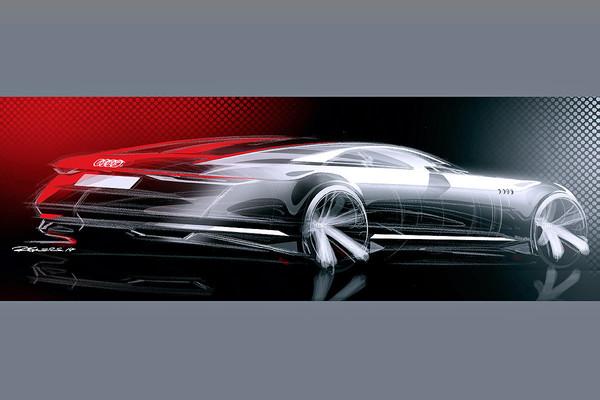 Audi A9 - conceptul Prologue spate