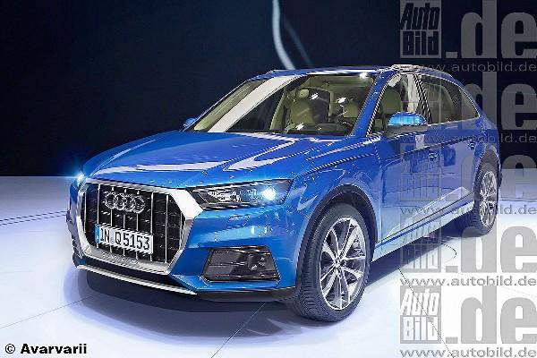 Audi Q5 2016 imagini fata