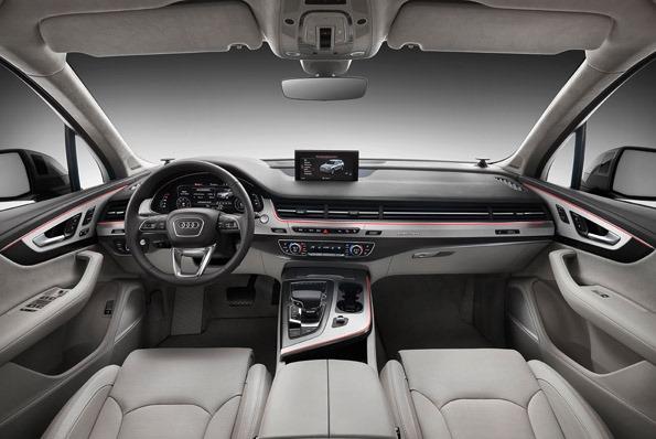 Audi Q7 2015 bord