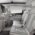 Audi Q7 2015 interior
