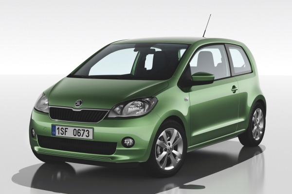 Automobile ieftine in Romania 2015 - Skoda Citigo