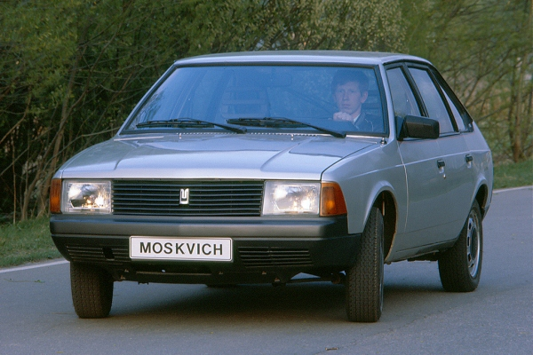 Automobile sovietice - Moskvich 2141