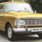 Automobile sovietice - Moskvich 412