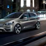 BMW Active Tourer - conceptul pentru primul BMW cu tractiune fata in motion