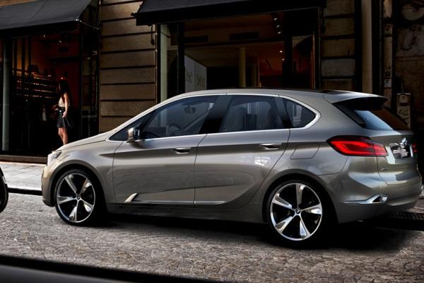 BMW Active Tourer - conceptul pentru primul BMW cu tractiune fata