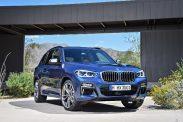 BMW X3 2017 fata