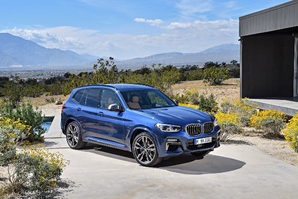 BMW X3 2017 lateral