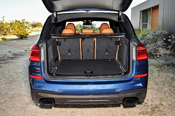 BMW X3 2017 portbagaj