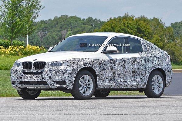 BMW X4 camuflat