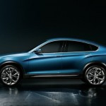 Noul BMW X4 lateral