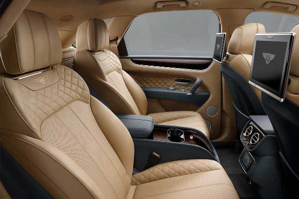 Bentley Bentayaga 2015 interior spate