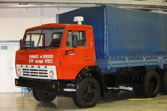 Camioane rusesti si sovietice Kamaz 5320
