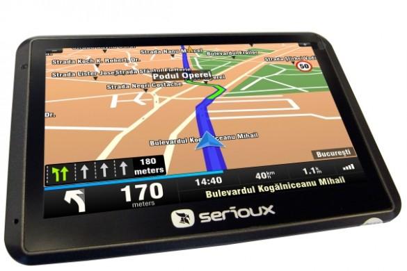 Cea mai buna navigatie - Serioux Q550T2