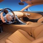 Cea mai rapida masina din lume Bugatti Chiron interior