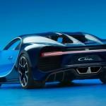 Cea mai rapida masina din lume Bugatti Chiron spate