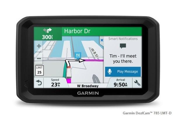 Cel mai bun gps pentru camioane - Garmin DezlCam™ 785 LMT-D