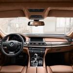 Cel mai scump BMW seria 7 interior fata
