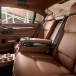 Cel mai scump BMW seria 7 interior spate