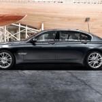 Cel mai scump BMW seria 7 lateral