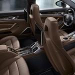 Cel mai scump Porsche Panamera Turbo S interior spate