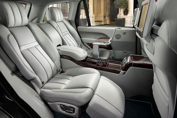 Cel mai tare Range Rover - SVAutobiography 2015 interior spate