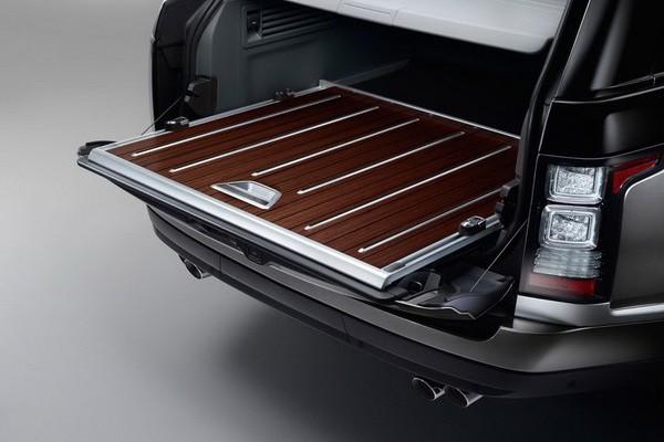 Cel mai tare Range Rover - SVAutobiography 2015 portbagaj