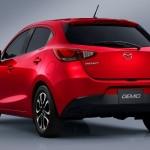 Cele mai bune automobile in Japonia pentru anul 2014 - Mazda 2 spate
