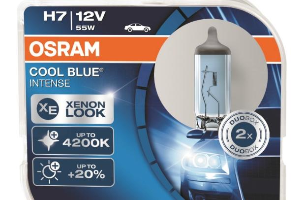 Cele mai bune becuri H7 - Osram Cool Blue Intense