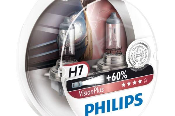 Cele mai bune becuri H7 Philips Vision Plus