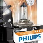 Cele mai bune becuri pentru Logan - becuri auto H4 Philips Vision
