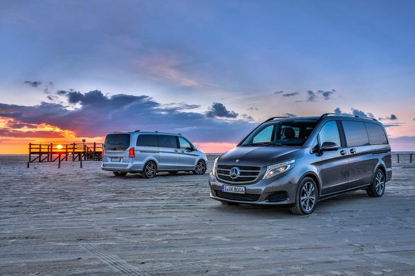 Cele mai bune masini de familie - Mercedes V-Class