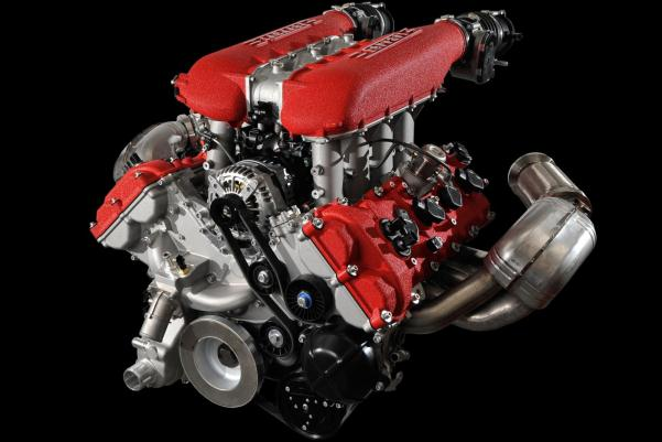 Cele mai bune motoare - Ferrari V8 4,5