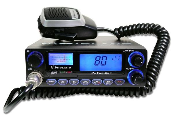 Cele mai bune statii radio auto Midland - Alan 248 XL