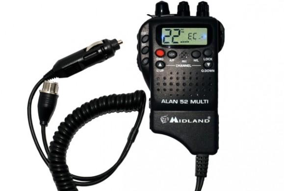 Cele mai bune statii radio Midland - Alan 52 Multi