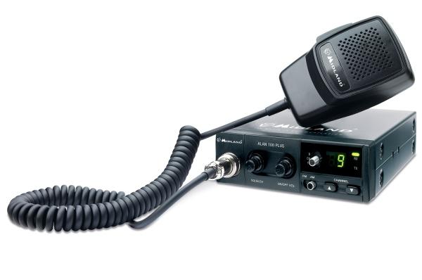 Cele mai bune statii radio auto Midland - Alan Plus 100