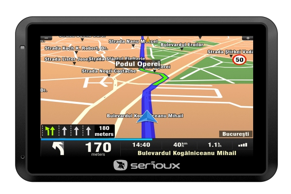 Cele mai ieftine navigatii GPS Serioux GT550T2