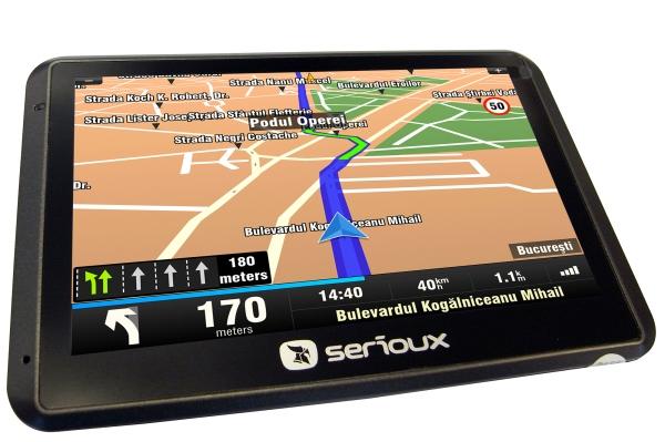 Cele mai ieftine navigatii GPS Serioux Q475T2