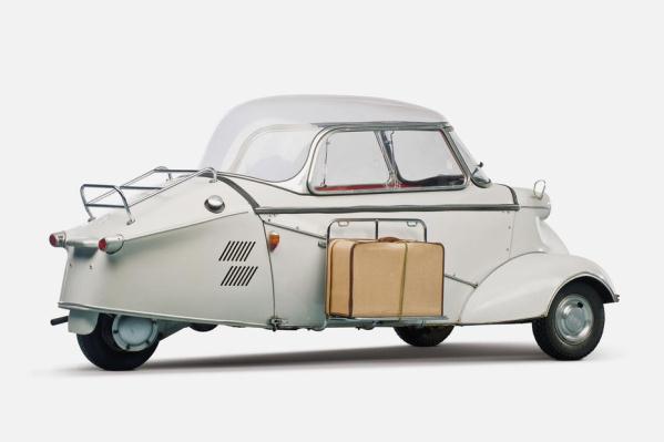 Cele mai mici masini din istorie - Messerschmitt KR-200