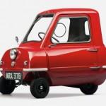 Cele mai mici masini din istorie - Peel P50 Jeremy Clarkson