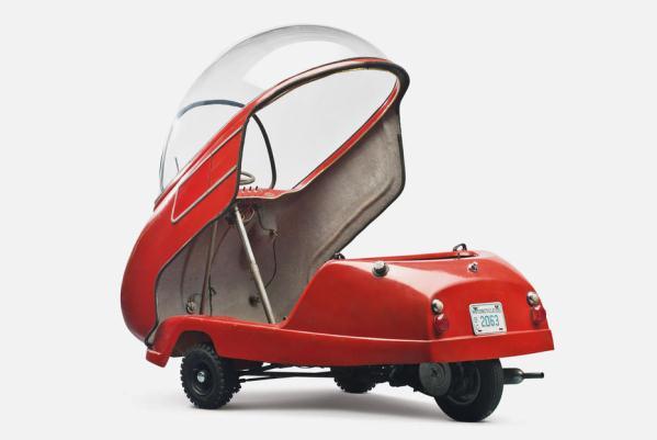 Cele mai mici masini din istorie - Peel P50