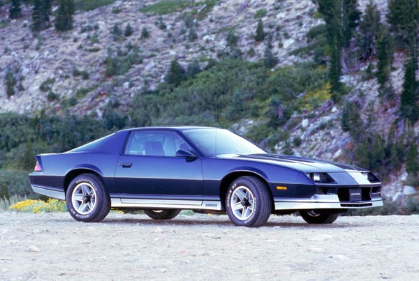 Chevrolet Camaro 3-a generatie