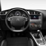 Citroen C4 2015 facelift bord