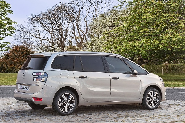 Citroen C4 Grand Picasso 2016 facelift spate