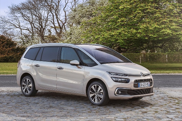 Citroen C4 Grand Picasso 2016 facelift
