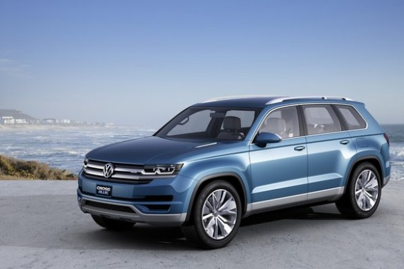 Conceptul CrossBlue SUV-ul cu 7 locuri de la Volkswagen